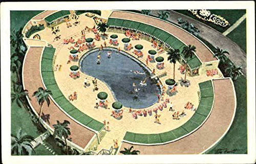 The Cabana Sun Club And Swimming Pool Havana, Cuba Original Vintage (Cabana Sun Club)