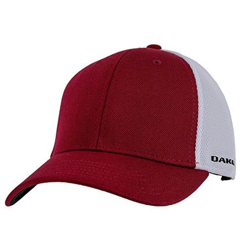 Oakley Men's Driver 2.0 Cresting Hat, New Crimson, - Kids Oakley