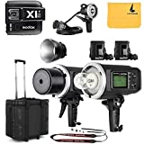 GODOX AD600BM Sync 1 / 8000s 2.4G 2Pcs Wireless Flash Speedlite,GODOX X1T-N Wireless Flash Trigger,GODOX AD-H1200B Hand-Held Extension Extra Head Bowens Mount for Godox AD600B AD600BM Flash Strobe