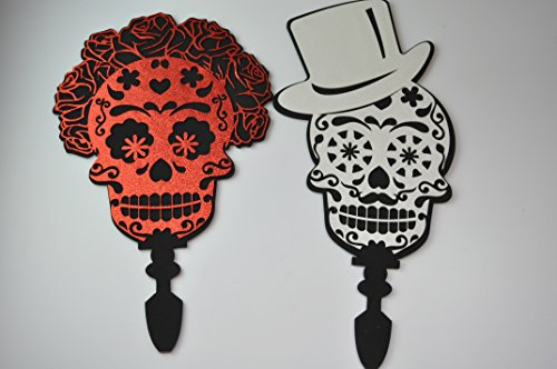 Day of the dead invitation special and custom made invitations Mexican Party skeleton invite Halloween (Photo Halloween Party Invitations)