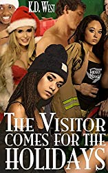 The Visitor Comes for the Holidays: A Friendly MMMF Ménage Tale (The Visitor Revisited Book 1)