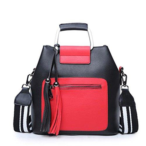 e borsa della signore semplici 28 a rosso nero Europa semplici semplici delle e Borse borse Uniti delle tracolla semplici tracolla Stati 1 a della borsa dimensione ncpTfEzwzq