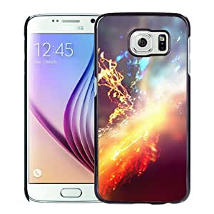 Unique Designed Cover Case For Samsung Galaxy S6 With Colorful Sparks Phone Case Cover