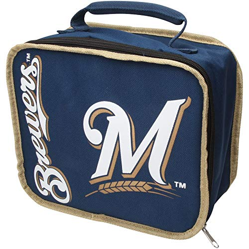 y Officially Licensed MLB Milwaukee Brewers Lunchbreak Lunchbox ()