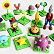 DIY Colored Clay, 24 Colors DIY Creative Street Model Clay, Soft Molded Oven Baking Clay and Tutorial. Best gift for Children.