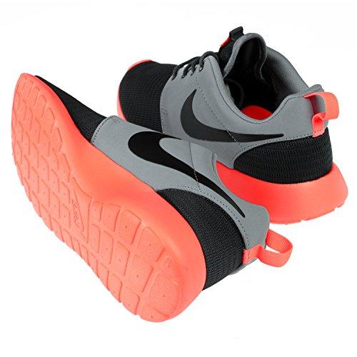 Nike Mens Rosherun Tillfälliga Löparskor 10 M Oss Svart Magnet Grå Ljust Mango