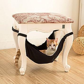 OWIKAR Hamaca de gato cama gatito gatito gatito gatito colgante litera dormir cama doble cara suave