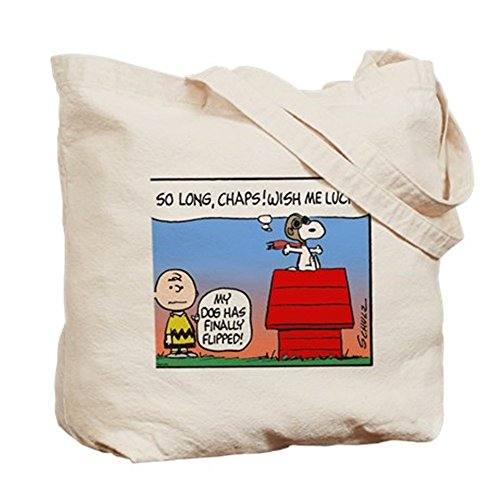 CafePress Tote Bag-Flying Ace-T-Shirt con stampa da ragazza Farewell Tote Bag