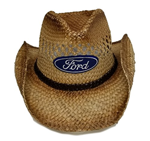Ford Genuine Straw Cowboy Hat Cap from Ford