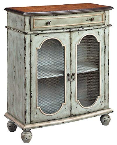 - Stein World 13257 Andria Accent Cabinet, Antique Brown