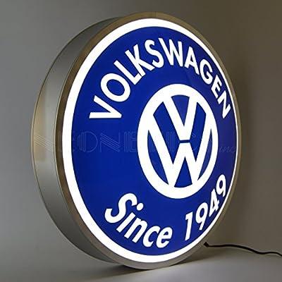 """Neonetics Vw Volkswagen Since 1949 Backlit LED Lighted Sign, 15"""""""