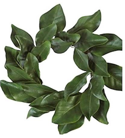 - American Best Christmas Quality Magnolia Leaf Grapevine Wreath 16