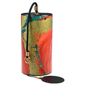 Amazon.com: Zaphir Tuned - Campana de viento, color rojo ...
