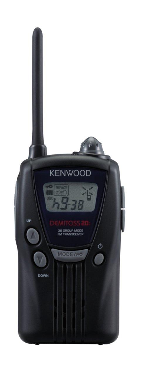 ケンウッド(KENWOOD) デミトス 特定小電力トランシーバー UBZ-LK20 ブラック   B000I0RD9I