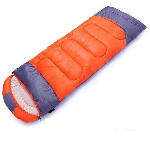 Jcnfa-saco de dormir Tela De Poliéster Individual Interior Camping Al Aire Libre Engrosamiento De Invierno (Color : B, Tamaño : 220 * 85cm): Amazon.es: ...