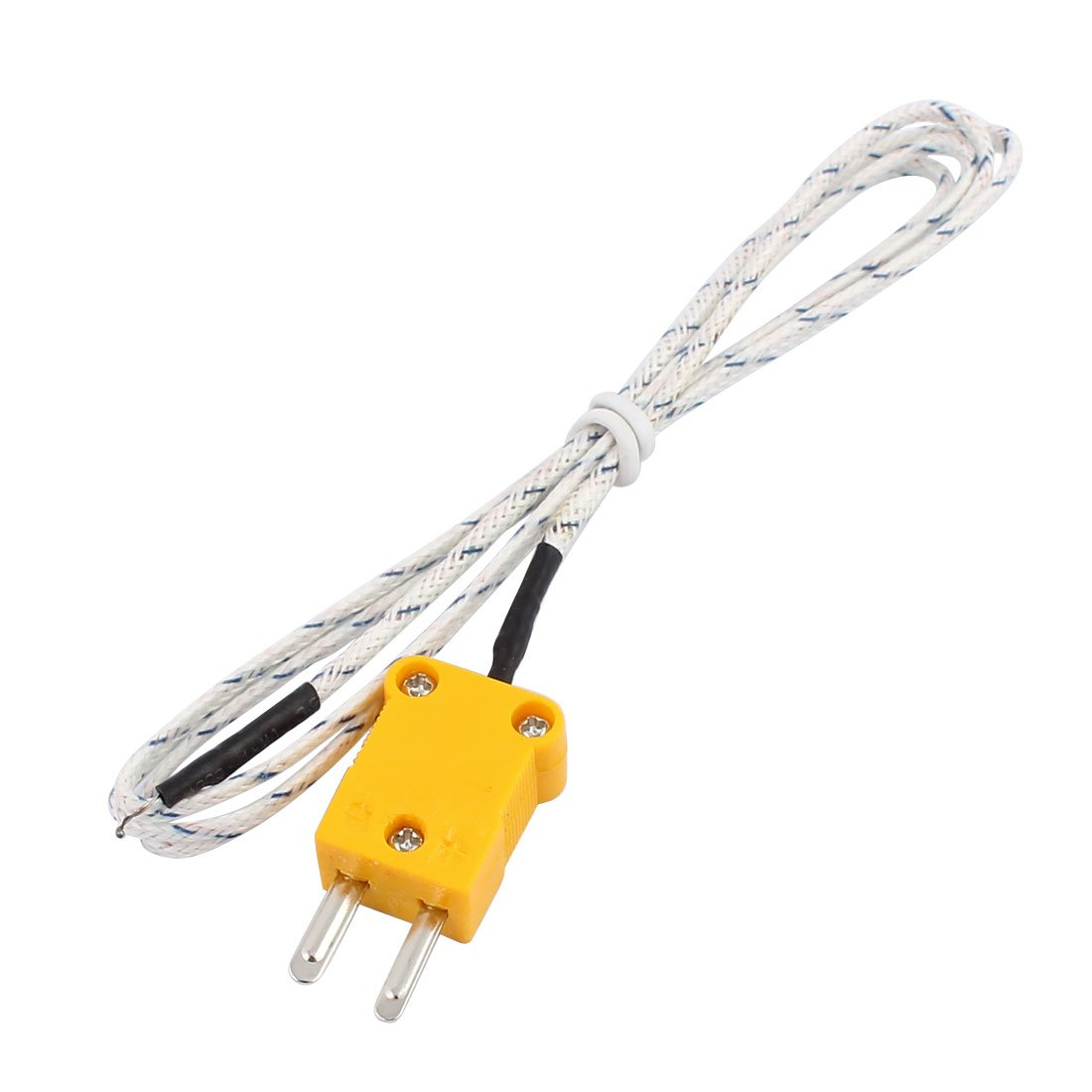 Toogoor 2 Pcs K Type 800c Wire Lead Measuring Thermo Couple Wiring Thermocouple Sensor 1m 33ft Home Improvement