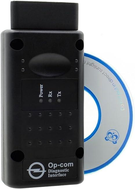 op-com Opel com Interface de diagnostic OBD2/Scanner lecteur de code