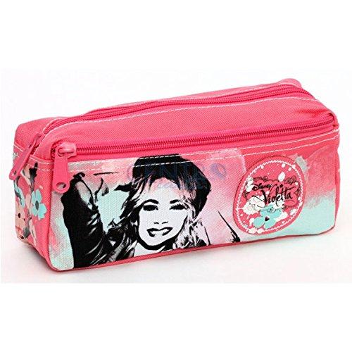 Disney Violetta Soft Pen Case 2 Zip
