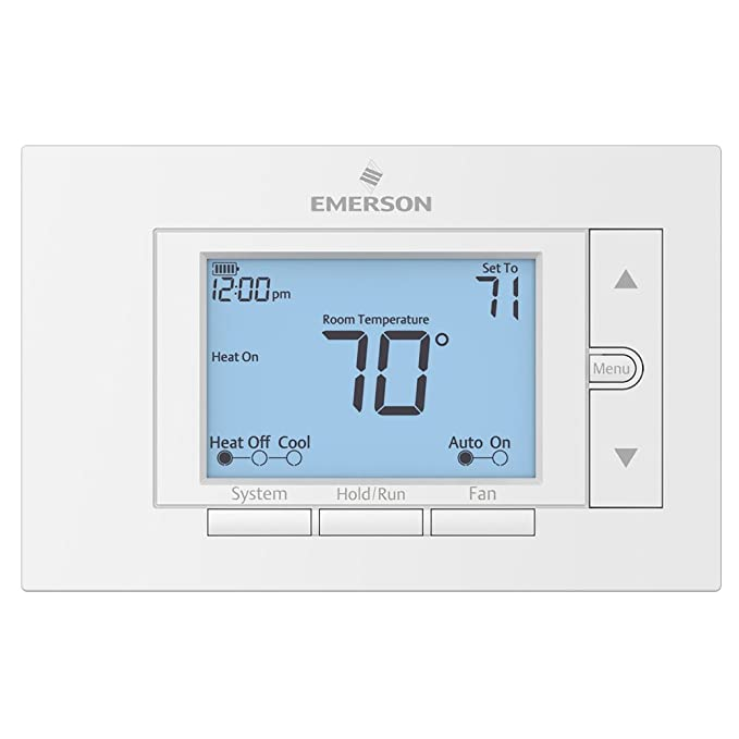 Emerson UP310 Premium 7 Day Programmable Universal Thermostat by ...