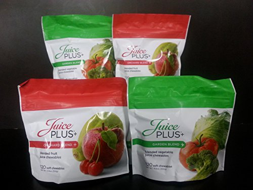 JUICE PLUS CHEWABLES - ORCHARD & GARDEN BLEND BAGS - 2 EACH ()