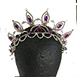 ballet tiara headpiece 25 red hand-made Japan