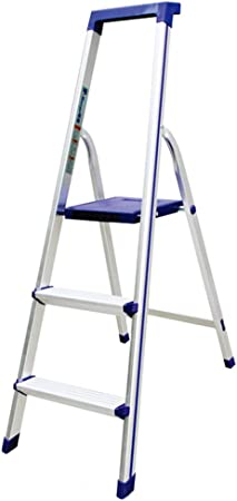 Taburete Plegable Silla Plegable Escalera De Madera Escaleras Ascendentes Patas Antideslizantes - Diseño Plegable para Un Fácil Almacenamiento - Adecuado para El Hogar/Cocina/Garaje ZHANGQIANG: Amazon.es: Hogar