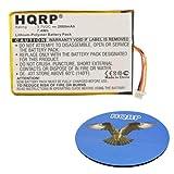 HQRP Battery for SkyGolf SkyCaddie SGX, SkyCaddie SGX-W GPS Range Finder Sky Golf Sky-Caddie SGX-GPS-0891 ENCPT505068HT GPS0320MG051 + HQRP Coaster
