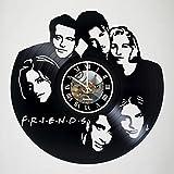 Best Friends tv show Friend Phone Stickers - KravchArt Friends - Vinyl Wall Clock, TV Series Review