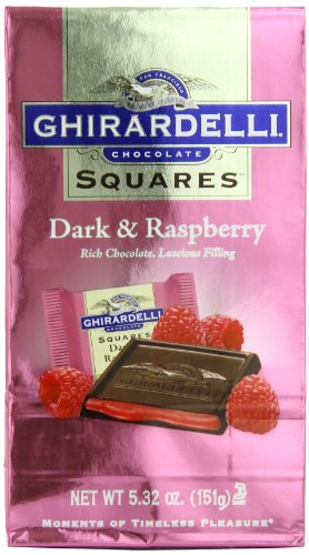 Ghirardelli Chocolate Raspberry 5 32 Ounce Packages