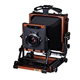 eTone 2.4kg New HZX45-IIA Shen Hao Walnut Wood Copper Field Folding 4X5'' Large Format Camera