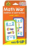Books : Math War Addition and Subtraction Game Cards