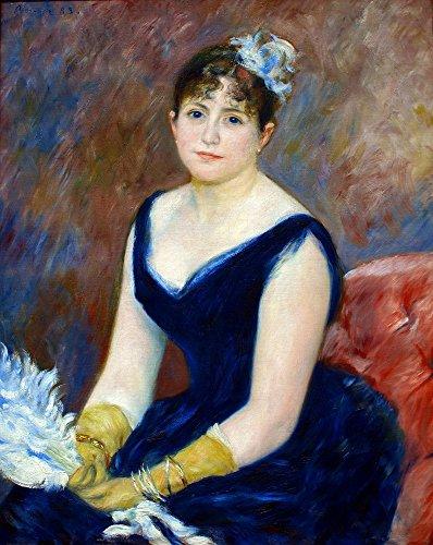 The Museum Outlet - Madame Leon Clapisson (also known as Marie Henriette Valentine Billet), 1883 - Canvas Print Online Buy (40 X 50 Inch)