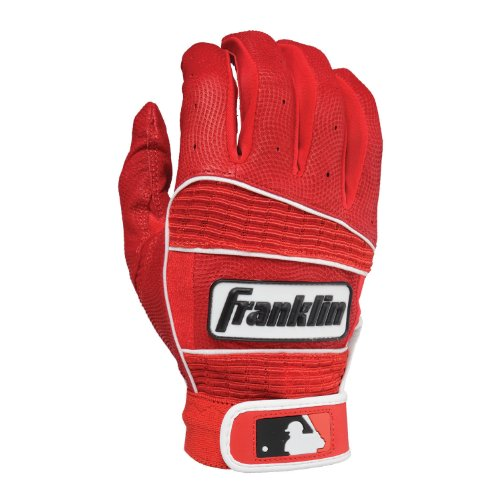 Classic Gloves Athletic - Franklin Sports MLB Adult Neo Classic II Series Batting Gloves, Red, X-Large
