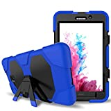 Galaxy Tab A 7.0 Case,Shockproof dust-proof hard armor Heavy Duty design with Kickstand Protective Case For Samsung Galaxy Tab A 7.0 Inch Tablet 2016 Release [SM-T280 / SM-T285] (Blue)