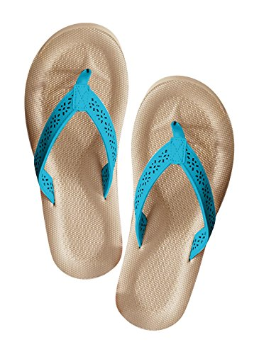 Carol Wright Gifts Thong Sandal Turquoise e1zJ0W