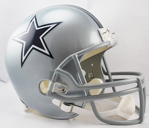 Dallas Cowboys Riddell Full Size Deluxe Replica Football Helmet - New in Riddell Box (Dallas Cowboys Deluxe Replica Helmet)