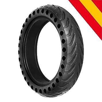 """HOROES Repuesto Neumático Rueda 8,5"""" x1 sólido para Scooter Eléctrico Xiaomi Scooter M365"""