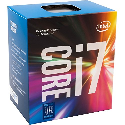 Intel Core i7-7700 Desktop Processor 8M Cache, 3.6GHz (Max Turbo Frequency 4.20GHz) 7th Generation