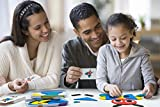 LiKee Wooden Pattern Blocks Animals Jigsaw Puzzle