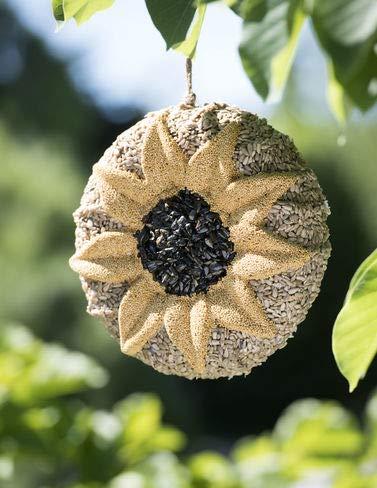 Gardener's Supply Company Songbird Tweets Sunflower Wreath
