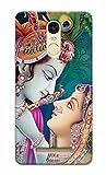 Tecozo Designer Printed Back Cover / Hard Case for Xiaomi Mi Redmi Note 3 (Radhe Krishna Design / Nature) - Multicolor