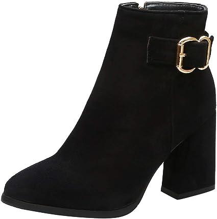 black boots leopard heel