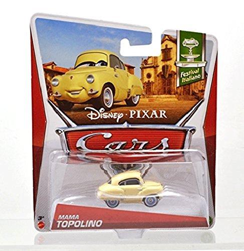 MATTEL Disney PIXAR CARS 2 Festival Italiano MAMA TOPOLINO FIAT Mini car MATTEL Mattel