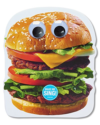 American Greetings Funny Hamburger Birthday Card with Music and Movement