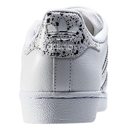 adidas Superstar, Baskets Mode Mixte Adulte Blanc (Ftwwht/Ftwwht/Crywht)