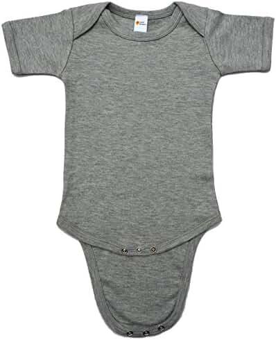 Earth Elements Baby Short Sleeve Bodysuit