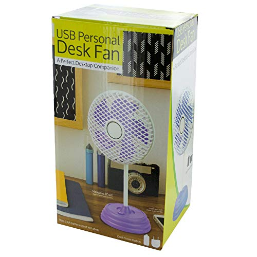 Dollaritem 615377 Wholesale Classic Design USB Personal Desk Fan X