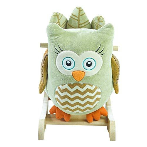 Rockabye Owliver Green Owl Rocker, One Size by Rockabye (Image #2)