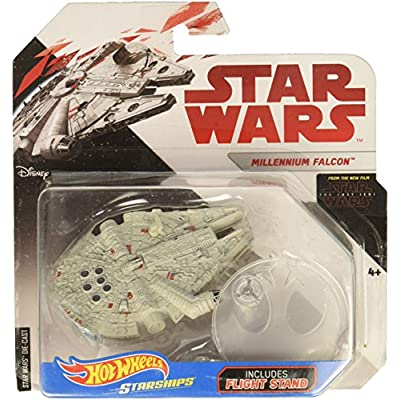 Hot Wheels Star Wars: The Last Jedi Millennium Falcon Die-Cast Vehicle: Toys & Games