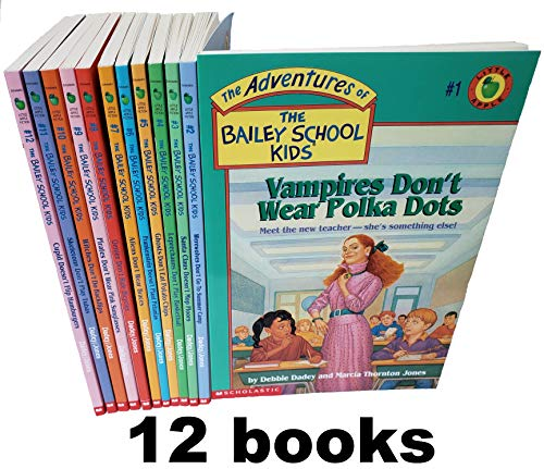 The Adventure of the Bailey School Kids SET ( Volume 1 - 12 )